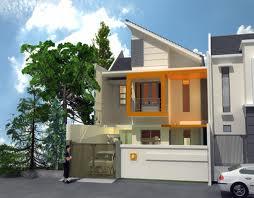 8800 Gambar Rumah Minimalis 2 Lantai Atap Miring Gratis Terbaik