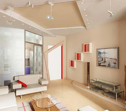 contoh perpaduan cat tembok dulux dan catylac kamar