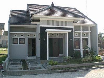 Contoh Desain Rumah Modern on Contoh Rumah Satu Lantai Yang Cukup Manis   Rumahku